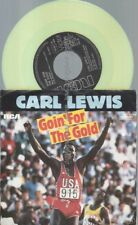 "7""   Carl Lewis ‎– Goin' For The Gold  // YELLOW VINYL"