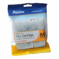 Aqueon Cartridges Medium for filters QuietFlow Led 10, E20. Replacement M, New