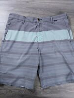 HURLEY Phantom Men's Size 34 Gray Board Shorts Surf Swim Trunks Casual