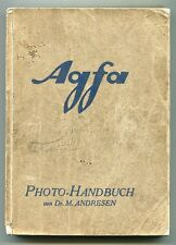 Andresen:  Agfa, Photo-Handbuch, um 1930