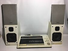 HITACHI MX-WO1 OPUS 1 Hi-Fi System CD Player Radio Cassette Deck Phono Amplifier
