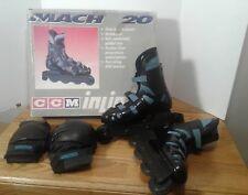 CCM Mach 20 Roller-Blades Inlines Skates Unisex Men 8 Women 10 w/ Pads