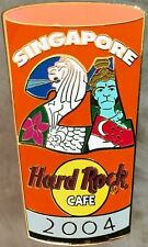 Hard Rock Cafe SINGAPORE 2004 PINT GLASS Series PIN #21 - HRC Catalog #24887