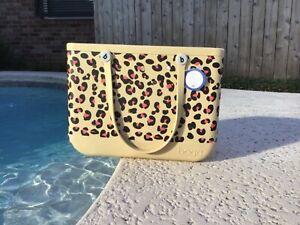 """🐆🤎NWT Original Large Bogg Bag """"Leopard"""" Limited Edition Leopard 🐆🤎"""
