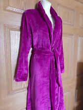 GILLIGAN & O'MALLEY WOMENS MISSES VIOLET PURPLE ROBE SOFT SIZE MEDIUM LARGE M/L