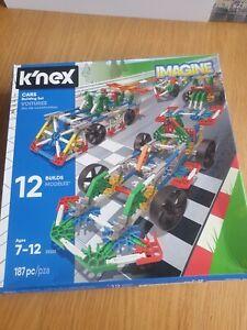 K'NEX Imagine 12 Model Cars Building Set (25525)