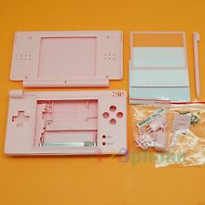 FULL HOUSING OUTER LENS+BUTTON SET+SCREW FOR NINTENDO NDSL NDS LITE #VH-036_PINK