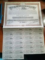 Turnhout Playing Cards Stock Certificate Coupons French France