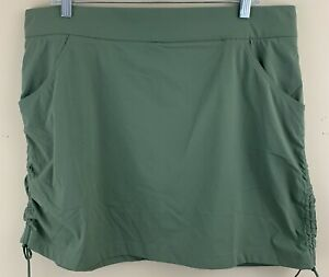 COLUMBIA Women's Anytime Casual Skort Size XL NEW