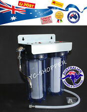 "Camper Van Boat Caravan Water Filter System + Bracket + Filter (3/4"" Port)"