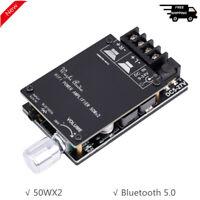 HIFI Wireless Bluetooth 5.0 TPA3116 Audio Power Amplifier 50WX2 Stereo AMP