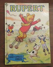 RUPERT Daily Express Annual 1982 VGC Hardcover