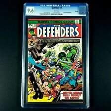 Defenders #23 Marvel Comics CGC 9.6 NM+ Winnipeg Pedigree