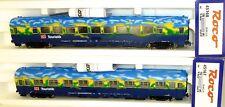 2X Tren Turístico Vagón de Compartimentos Vagones Roco 45167 45168 H0 1:87
