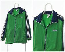 90s Vintage Mens ADIDAS ORIGINALS Padded Winter Jacket Green Blue Size XL