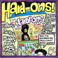 HARD-ONS just being with you / growing old 45RPM 1989 orig. Australia w/insert