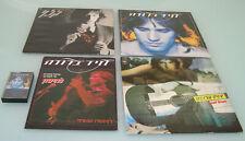 Israeli Collection Of DAVID BROZA 3XLP +1 cassette +1 Rare Special magazine 1983