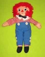 Raggedy Andy Doll Stuffed Animal Plush Vintage Playskool 1987