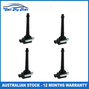 4x Ignition Coils for Nissan Tiida C11 X-Trail T31