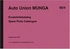 DKW Auto Union Munga Ersatzteilliste Ersatzteilkatalog Spare Parts Catalogue 67