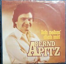 Bernd Apitz:Ich nehm' Dich mit Single Schlager