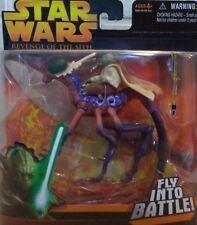 "2005 Star Wars Revenge of the Sith "" Yoda "" Fly into Battle  NIP (SW10)"