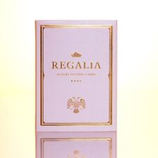 Regalia White Playing Cards Second Limited Edition Deck by Shin Lim & Cartamundi