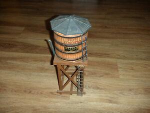 Jim Beam Decanter Train Water Tower Bourbon Whiskey