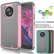 Armor Hybrid Rubber Hard Case Slim Cover for Motorola Moto X4 / Moto X 4th Gen