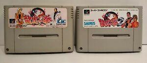 Art Of Fighting 1 & 2 - 2 Jeux Super Famicom - Bon état - Cartouches seules
