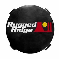 Rugged Ridge Hid Off Road Light Covers 7-Inch Smoked  X 15210.51