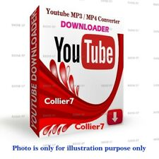 YOUTUBE VIDEO DOWNLOADER to MP3/MP4 CONVERTER FOR WINDOWS