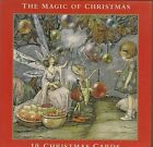 VINTAGE MUSEUM  GALLERIES THE MAGIC OF CHRISTMAS 10 ASST CARDS 5x5 INCH