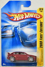 HOT WHEELS 2008 FIRST EDITIONS 2008 LANCER EVOLUTION #23/40 RED