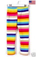 Rainbow Fleece Lined Leggings for Toddler Girls FAST USA SHIP