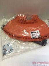 Parasassi Protezione Riparo decespugliatore EFCO OLEO MAC con tagliafilo arancio