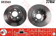 Bremsscheibe (2 Stück) - TRW DF2563