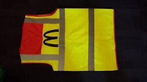 NEW McDonald's  Leo Workwear Medium Branded HIgh Vis Vest