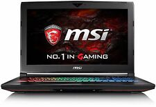 "MSI GT62VR 6RD-014UK 15.6"" FHD Gaming Laptop i7-6700HQ 16GB 1TB 256GB GTX1060 6G"