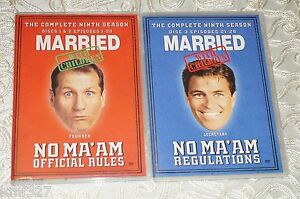 Married With Children - The Complete Ninth Season (DVD, 2008, 3-Disc Set) Mint