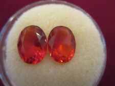 Mexican Fire OPAL 1 Oval Pair Grade A