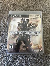 Transformers: Dark of the Moon PS3 Sony PlayStation 3, 2011 Complete In Box CIB