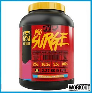 Mutant ISO SURGE 2.27kg Whey Protein Isolate Pineapple Coconut 11/21