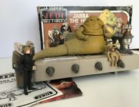 Vintage Star Wars Jabba The Hutt Action Playset 1983 Complete With Original Box