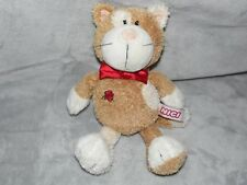 NICI CAT SOFT TOY GINGER BROWN PUSSY COMFORTER DOUDOU