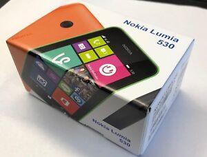 "Nokia  Lumia 530 - 4GB - ""Schwarz""  (Ohne Simlock) Smartphone Neuware"
