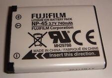 Batterie D'ORIGINE FUJIFILM NP-45 Casio Exilim EX-Z270