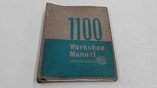 BMC 1100 WORKSHOP MANUAL AUSTIN MORRIS LEYLAND BOOK ORIGINAL GENUINE