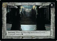 1x LORD OF THE RINGS LOTR TCG PROMO 0P4 COUNCIL COURTYARD