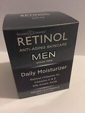 Skincare Retinol MEN Daily Moisturizer- New Sealed Box 1.7 oz